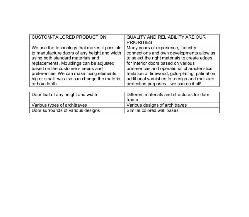 Перевод фрагмента брошюры в упрощенном виде